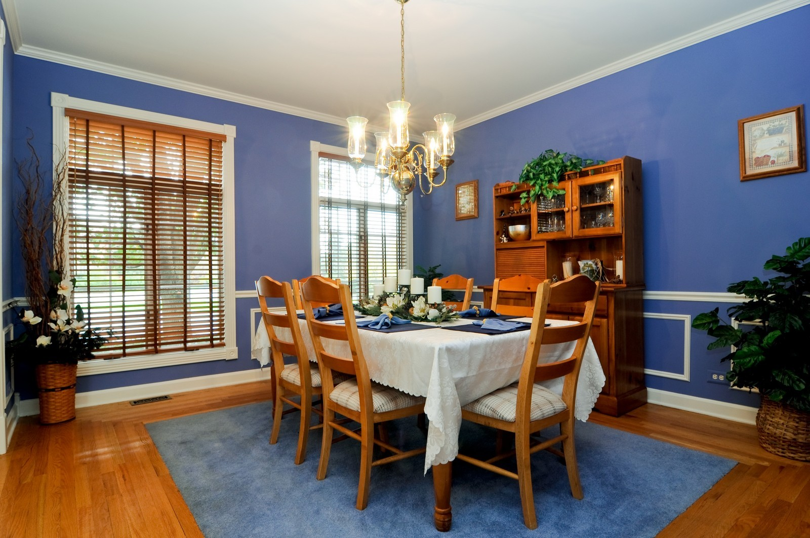 Real Estate Photography - 22988 W Thornhill Ct, Deer Park, IL, 60010 - Dining Room