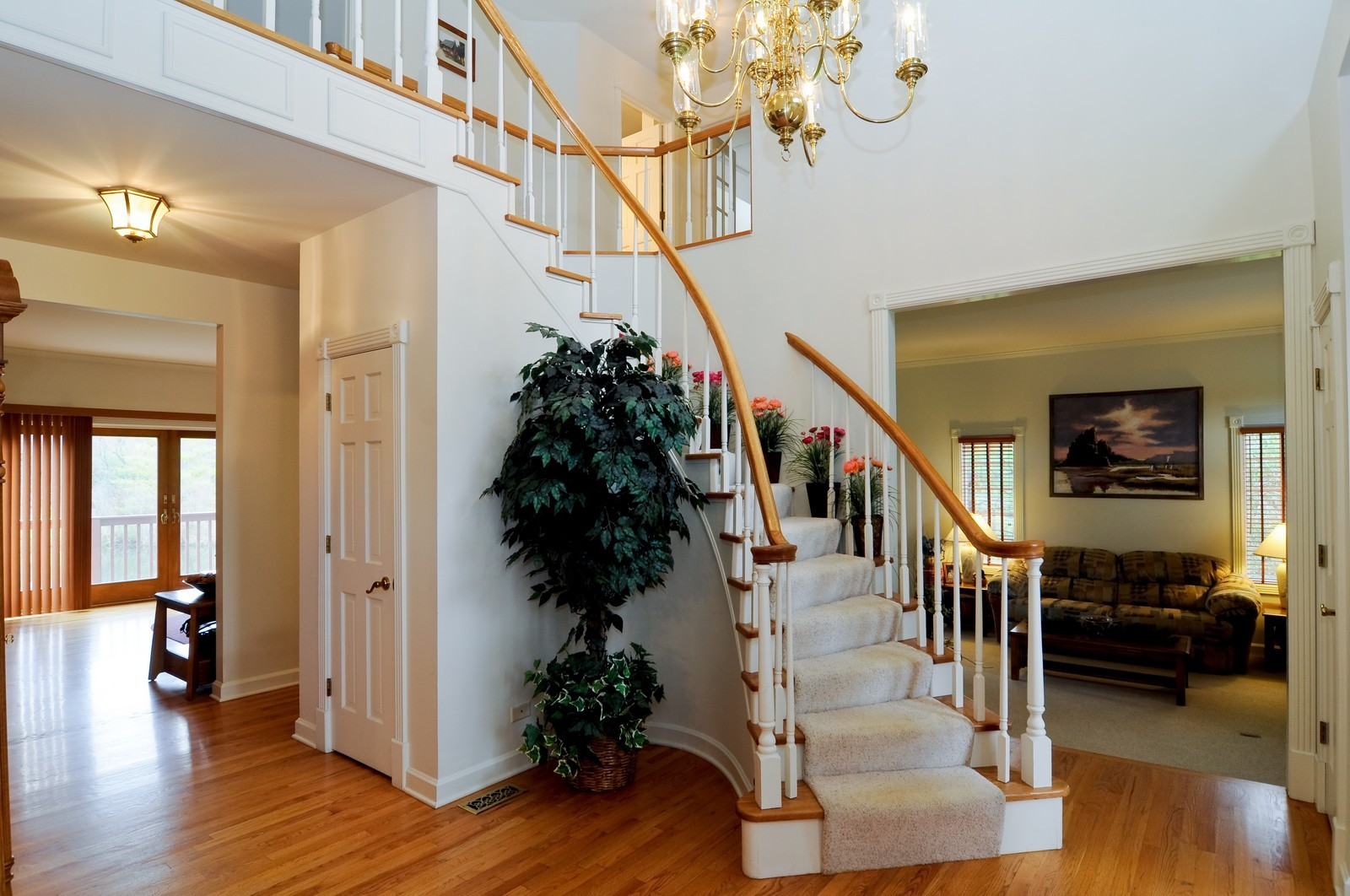 Real Estate Photography - 22988 W Thornhill Ct, Deer Park, IL, 60010 - Foyer