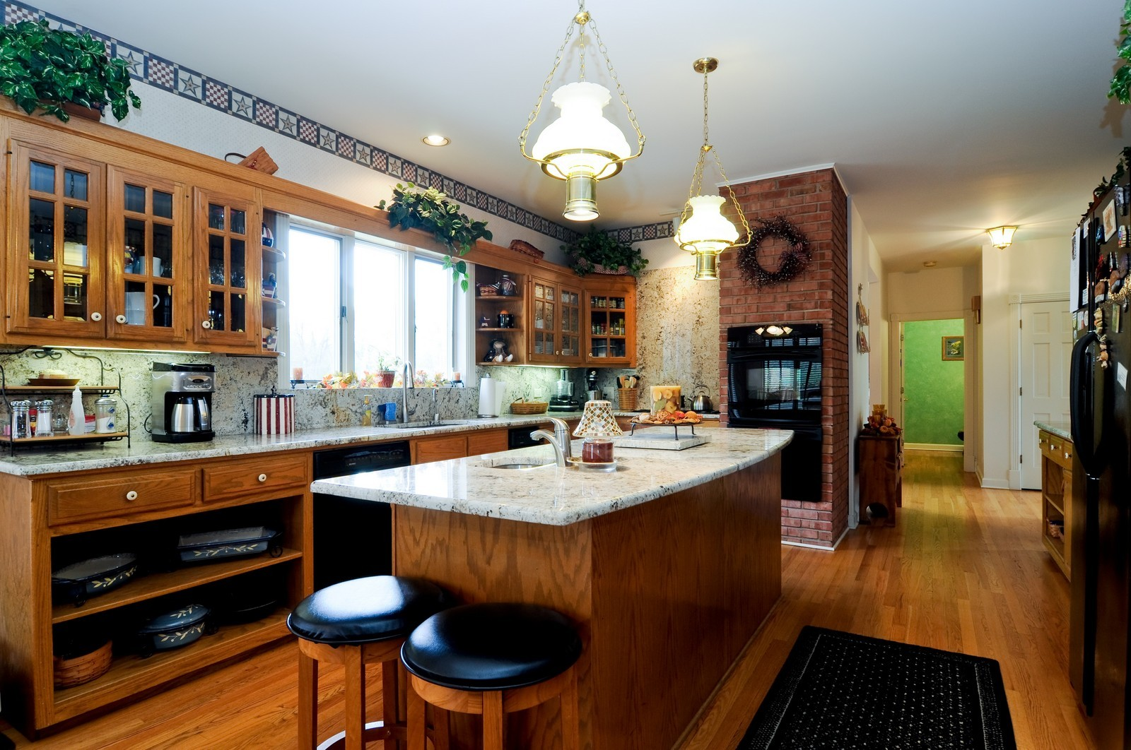 Real Estate Photography - 22988 W Thornhill Ct, Deer Park, IL, 60010 - Kitchen