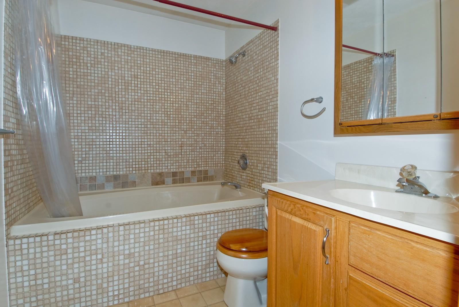 Real Estate Photography - 210 Pardridge Pl, Dekalb, IL, 60115 - Master Bathroom