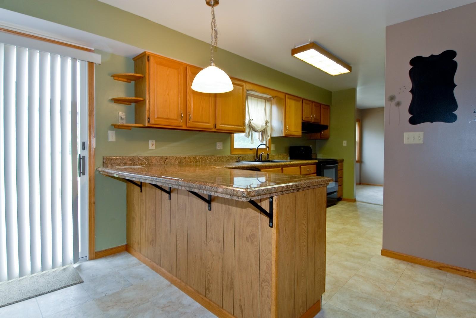 Real Estate Photography - 210 Pardridge Pl, Dekalb, IL, 60115 - Kitchen