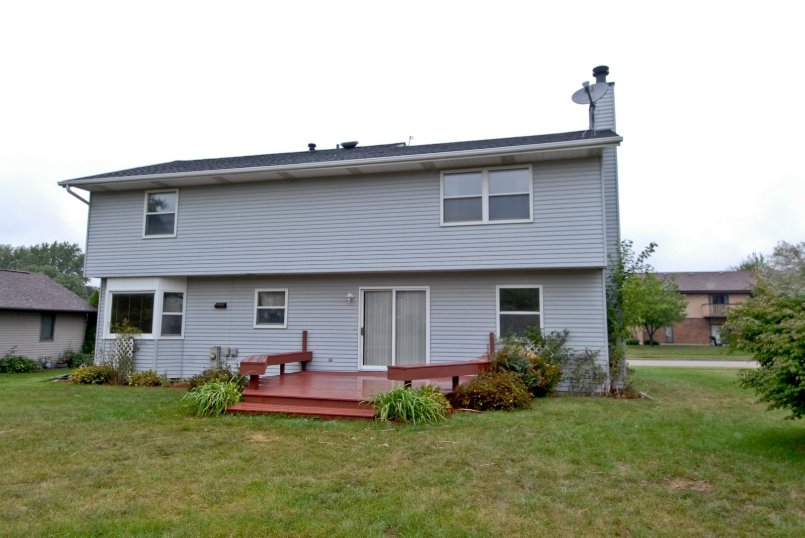 Real Estate Photography - 210 Pardridge Pl, Dekalb, IL, 60115 - Rear View