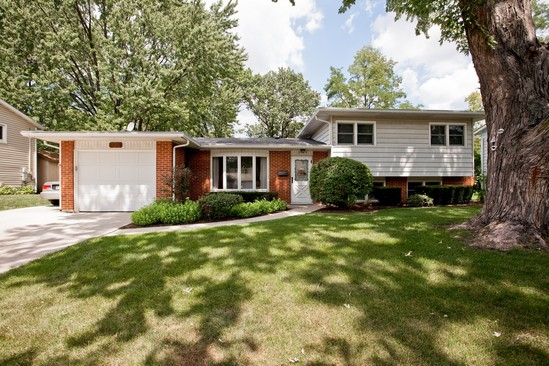 Front View photograph of 3124 Everglade Ave Woodridge Illinois 60517