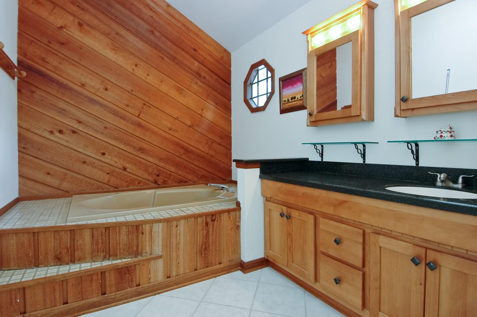 Real Estate Photography - 1435 Brandywine Cir, Algonquin, IL, 60102 - Master Bathroom
