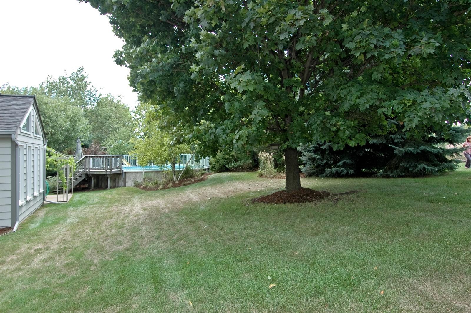 Real Estate Photography - 1435 Brandywine Cir, Algonquin, IL, 60102 - Back Yard