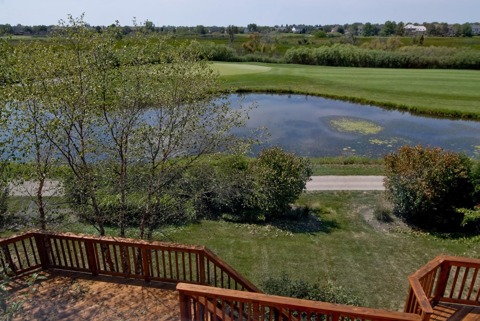 Real Estate Photography - 1264 Keim Ct, Geneva, IL, 60134 - Golf Course