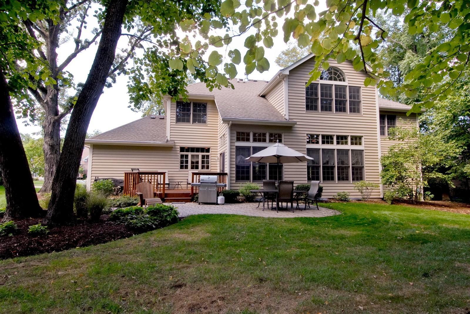 Real Estate Photography - 2502 Majestic Oaks Ln, Saint Charles, IL, 60174 - Rear View