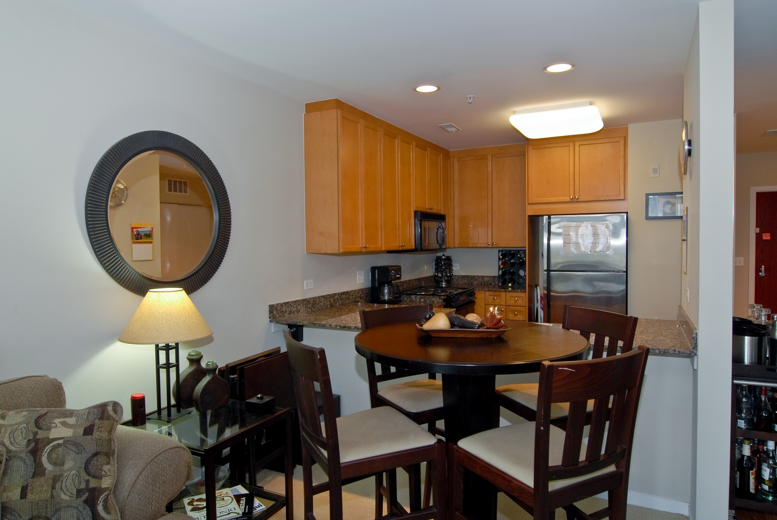 Real Estate Photography - 125 Euclid Ave, Unit 407, Oak Park, IL, 60301 - Dining Room