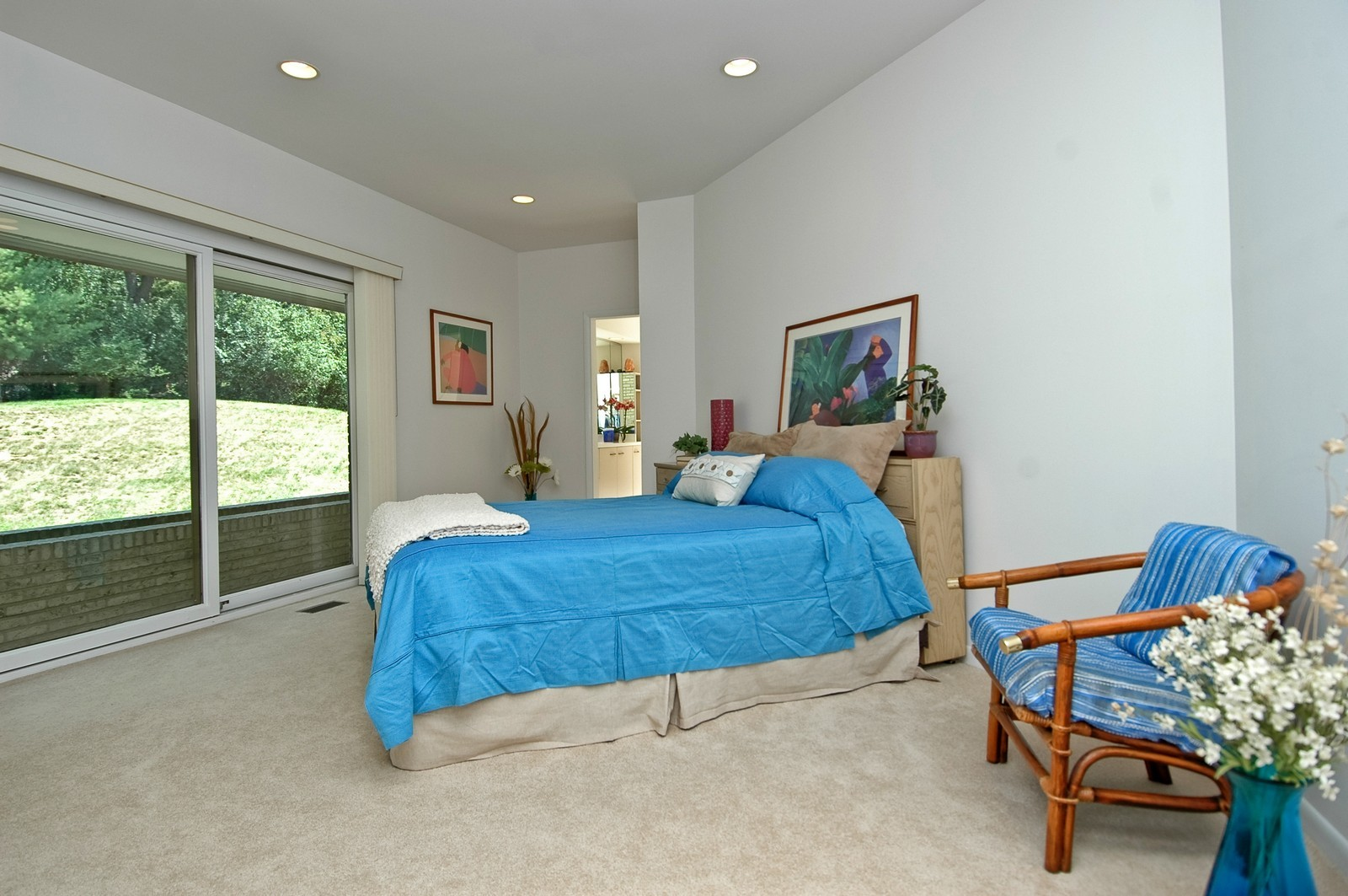 Real Estate Photography - 4 Far Hills Rd, Barrington Hills, IL, 60010 - Master Suite