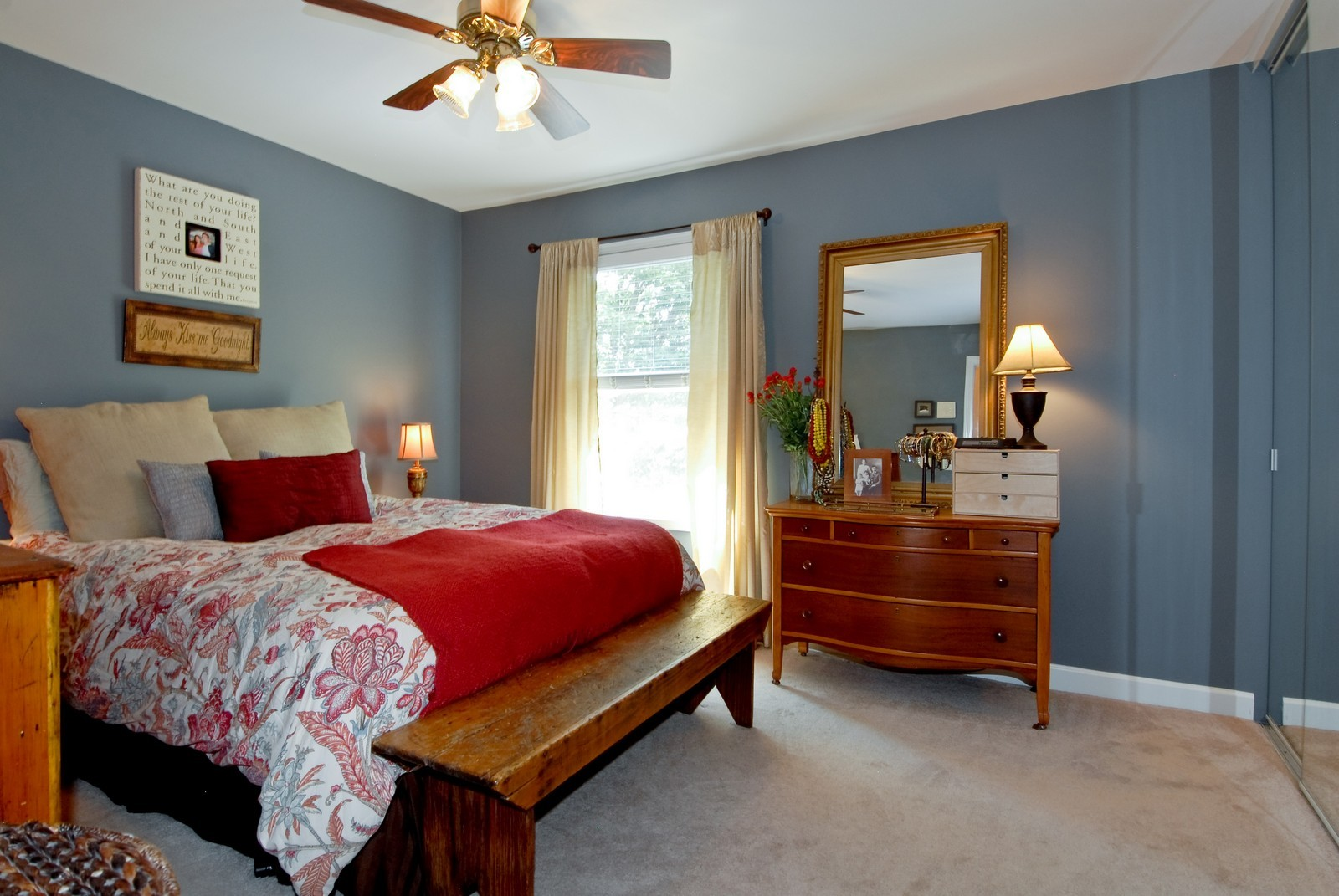 Real Estate Photography - 1027 Churchill Dr, Naperville, IL, 60563 - Master Bedroom