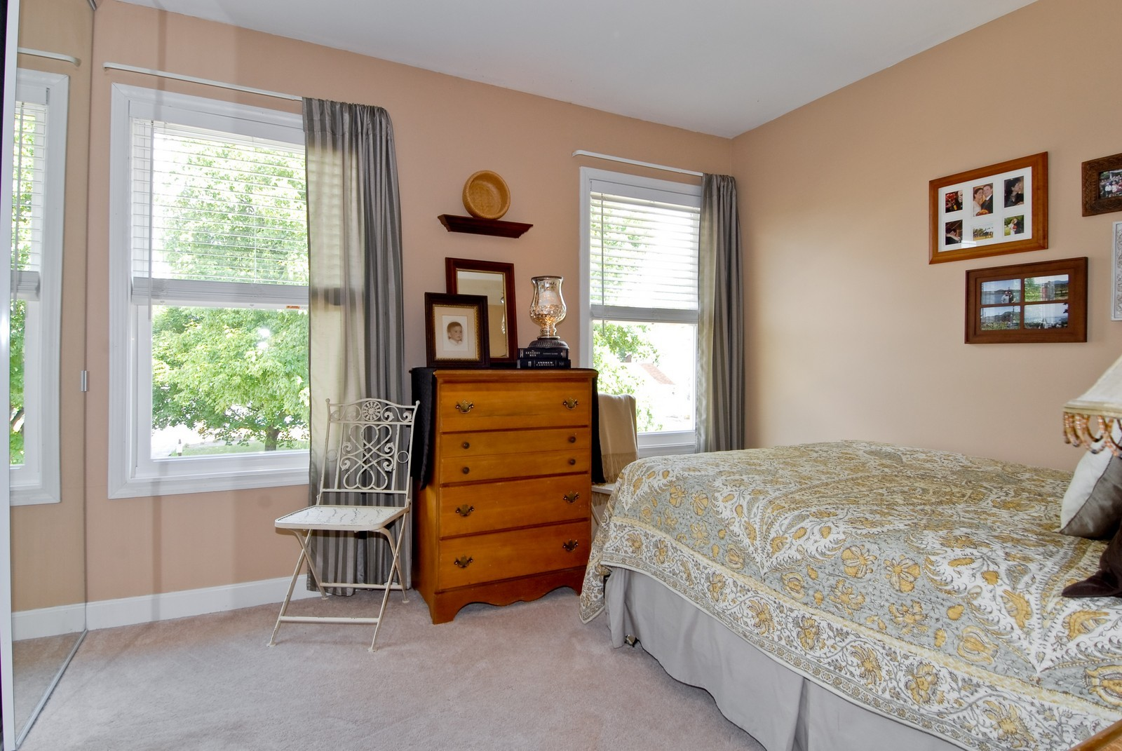 Real Estate Photography - 1027 Churchill Dr, Naperville, IL, 60563 - 2nd Bedroom