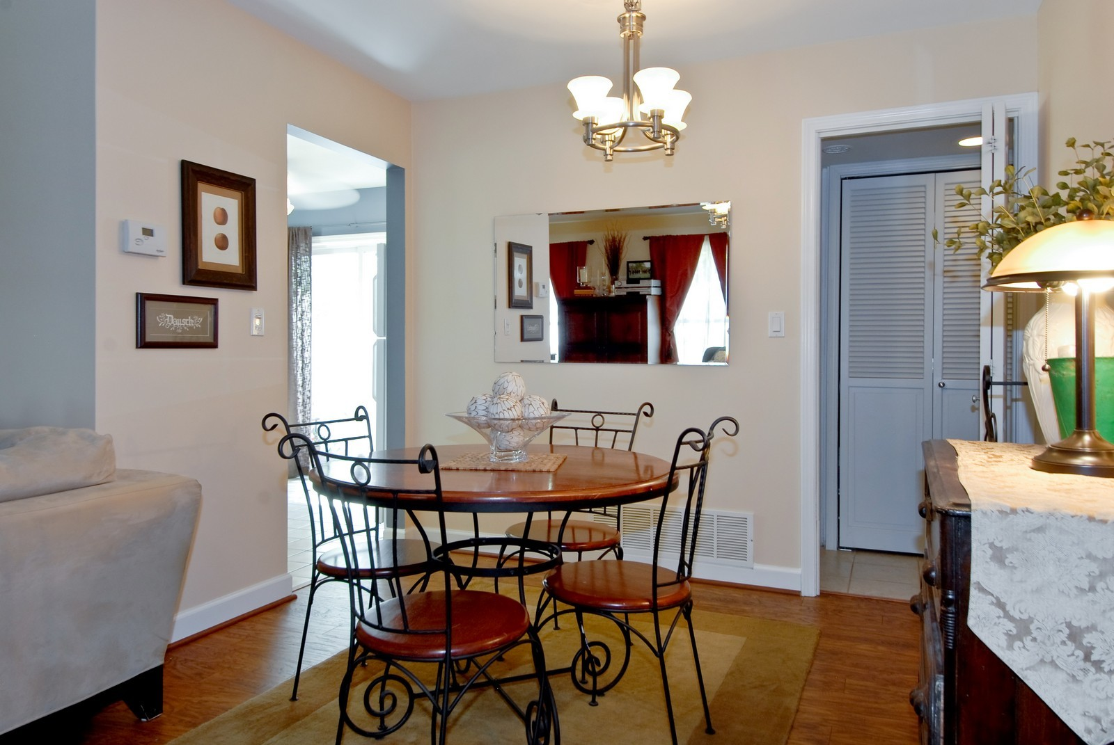 Real Estate Photography - 1027 Churchill Dr, Naperville, IL, 60563 - Dining Room