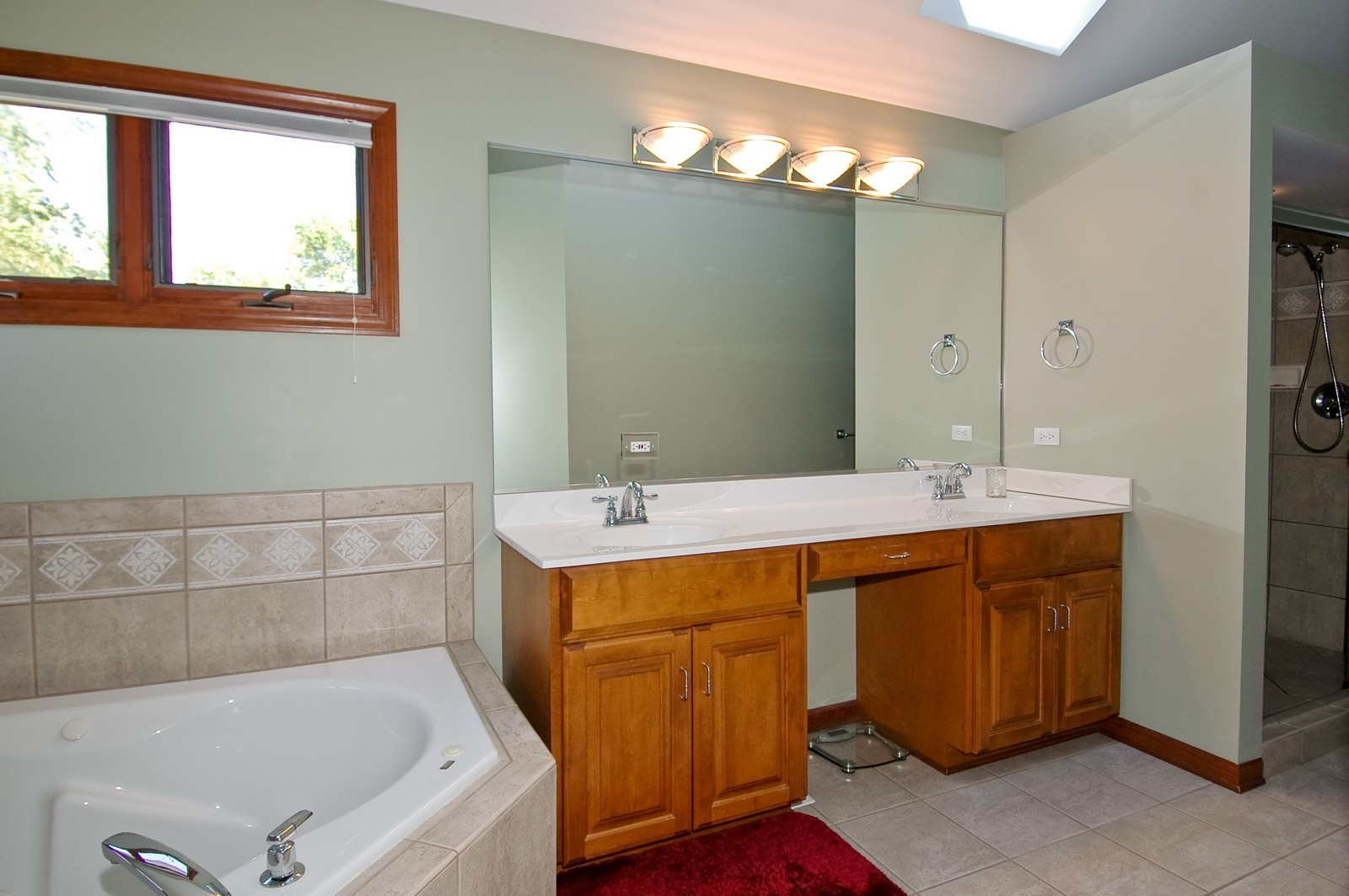 Real Estate Photography - 5N798 Route 25, St Charles, IL, 60174 - Master Bathroom