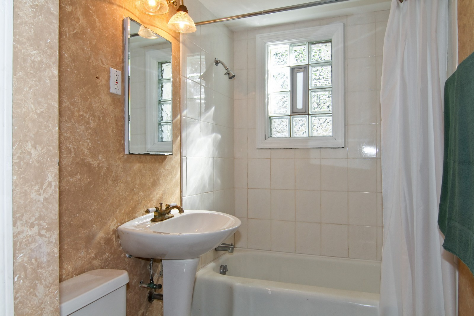 Real Estate Photography - 1702 E Indiana St, Wheaton, IL, 60187 - Bathroom