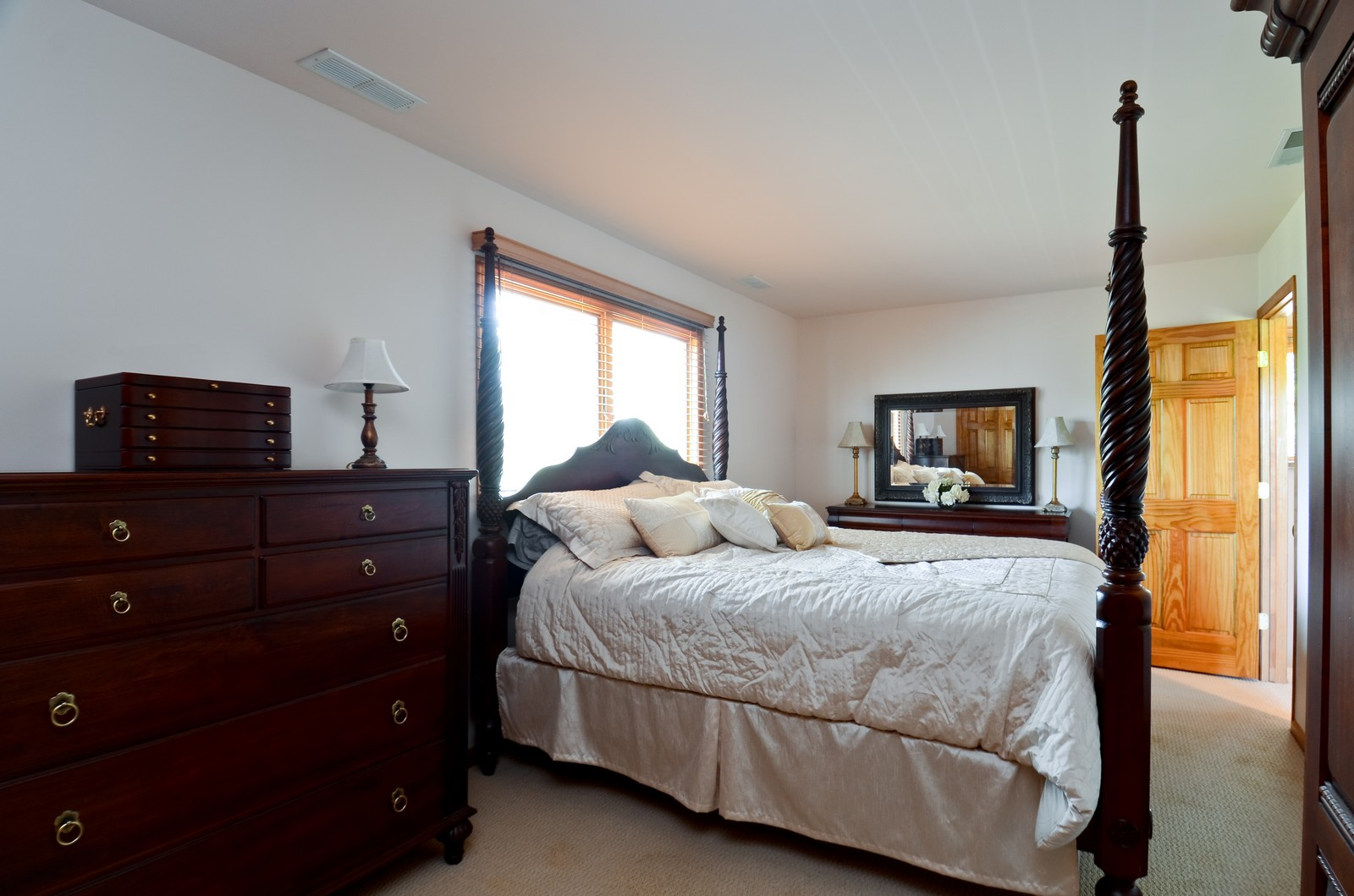 Real Estate Photography - 4N656 Klein Rd, West Chicago, IL, 60185 - Master Bedroom
