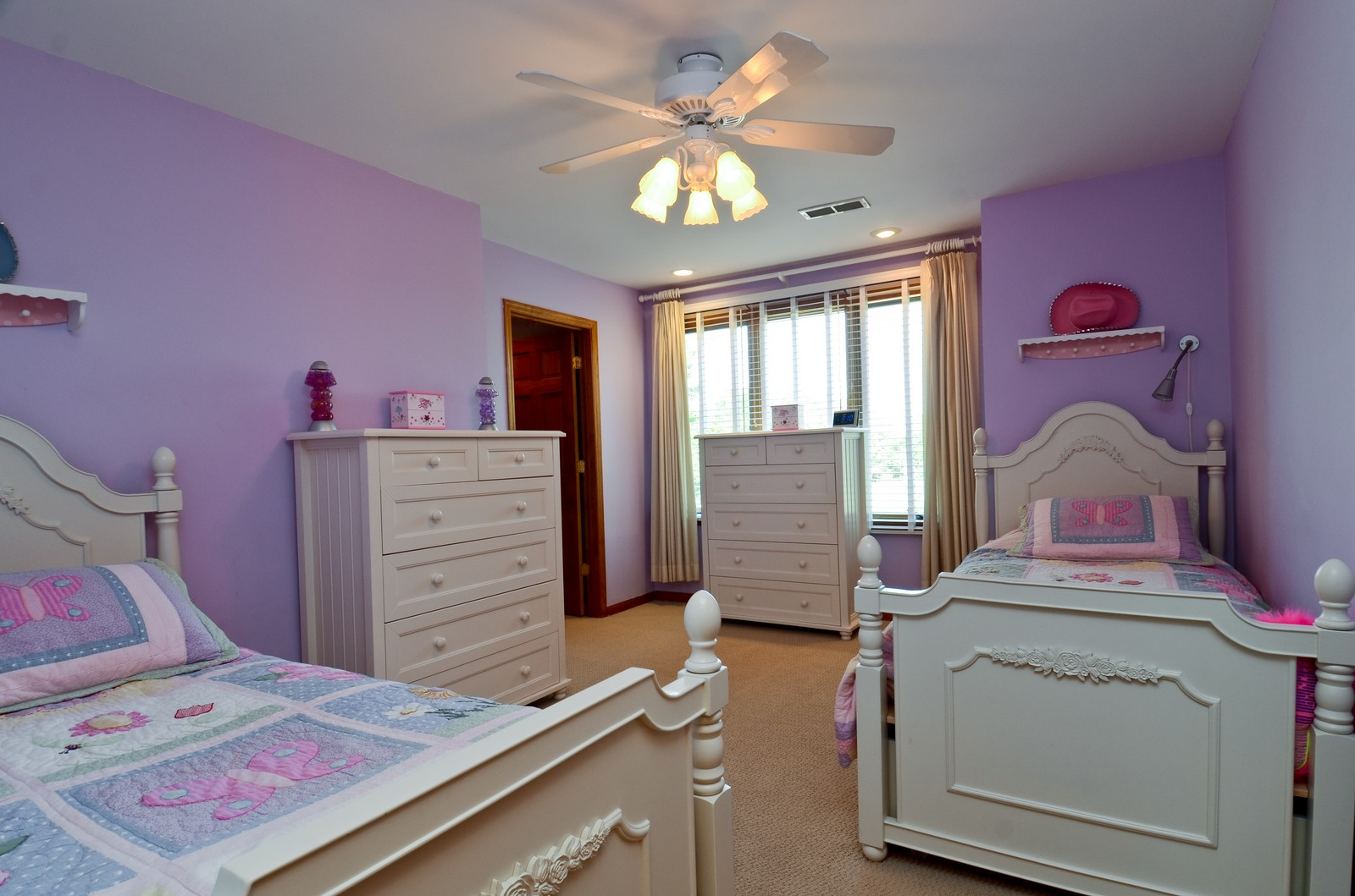 Real Estate Photography - 4N656 Klein Rd, West Chicago, IL, 60185 - 2nd Bedroom