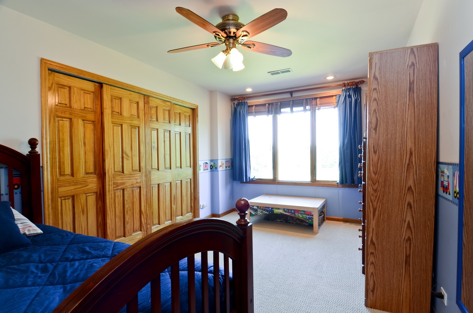 Real Estate Photography - 4N656 Klein Rd, West Chicago, IL, 60185 - 3rd Bedroom