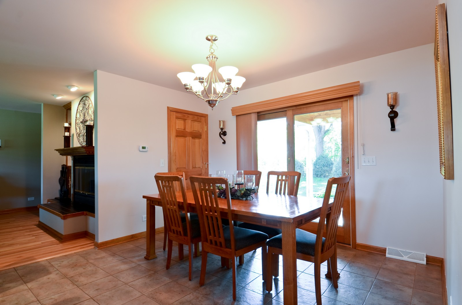 Real Estate Photography - 4N656 Klein Rd, West Chicago, IL, 60185 - Dining Room