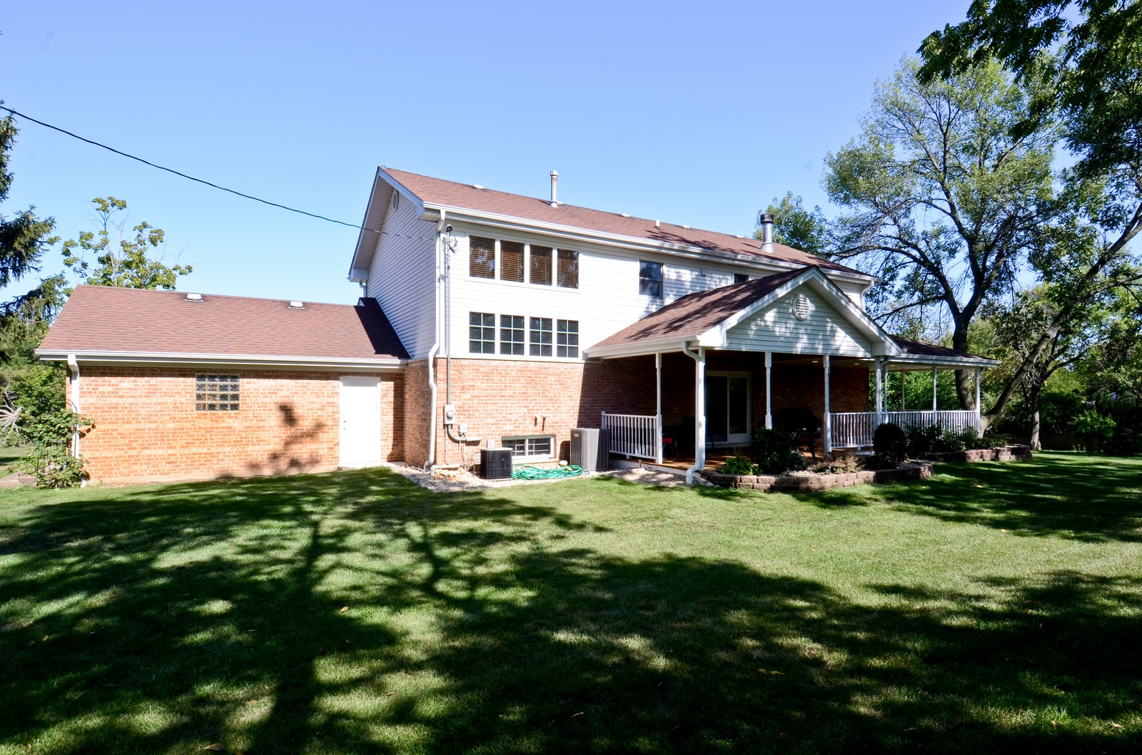 Real Estate Photography - 4N656 Klein Rd, West Chicago, IL, 60185 - Rear View