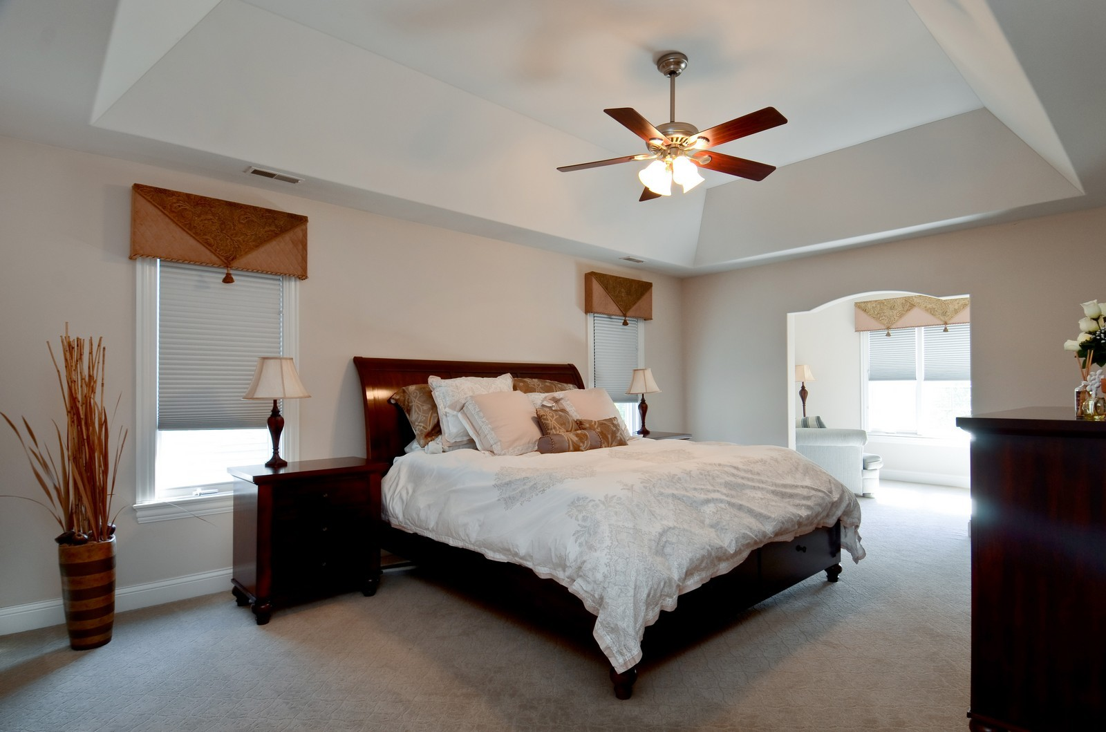 Real Estate Photography - 4343 Woodward Ave, Downers Grove, IL, 60515 - Master Bedroom
