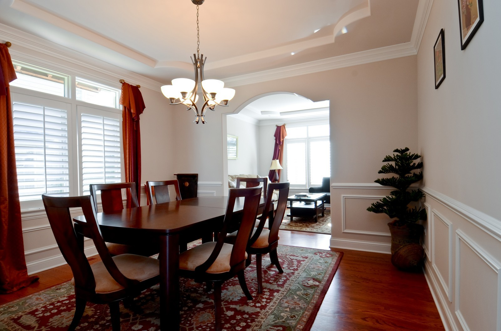 Real Estate Photography - 4343 Woodward Ave, Downers Grove, IL, 60515 - Dining Room