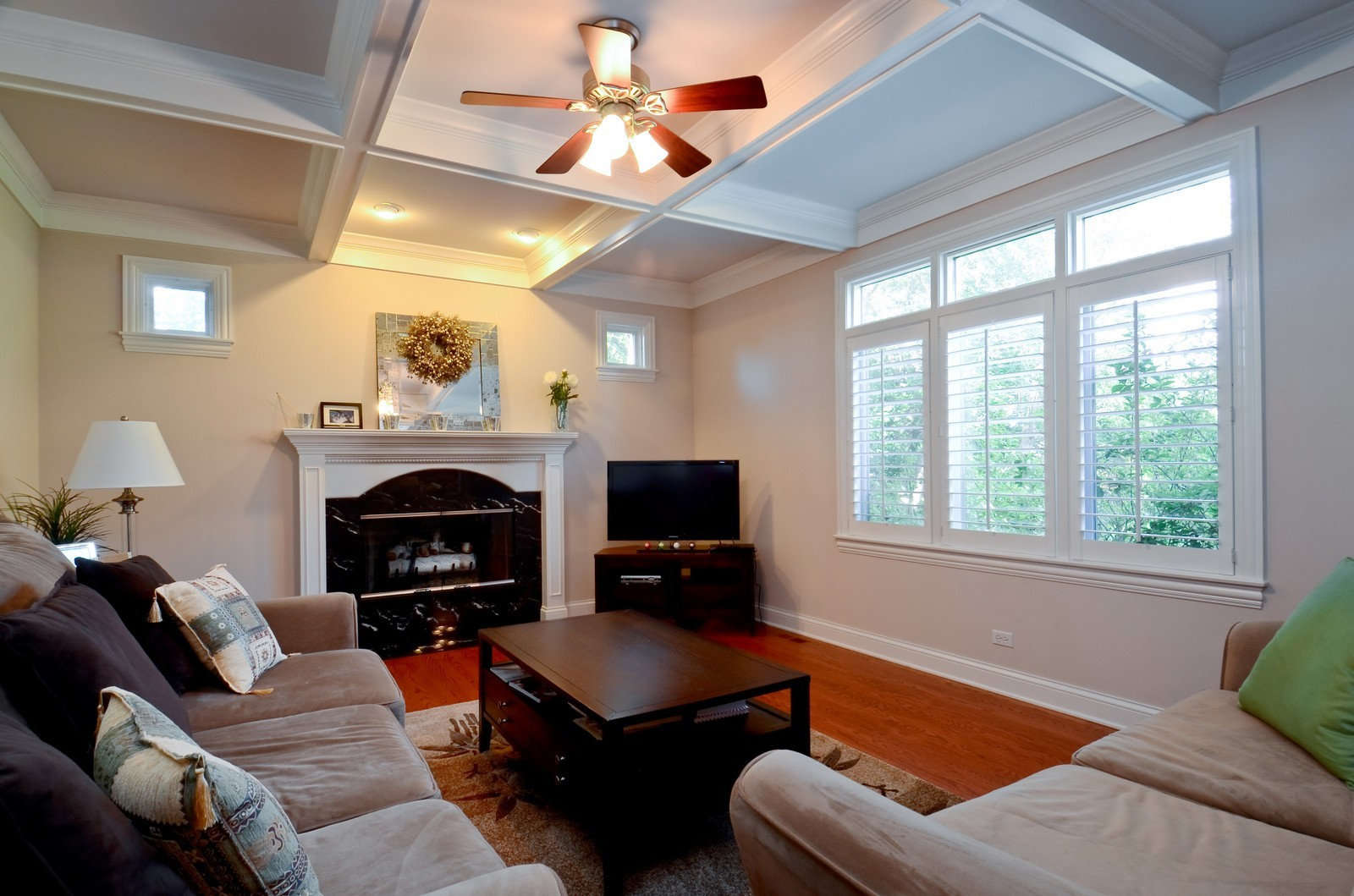 Real Estate Photography - 4343 Woodward Ave, Downers Grove, IL, 60515 - Family Room