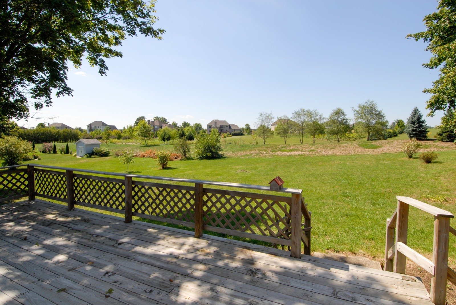 Real Estate Photography - 5N456 Old LaFox Rd, St Charles, IL, 60175 - Back Yard