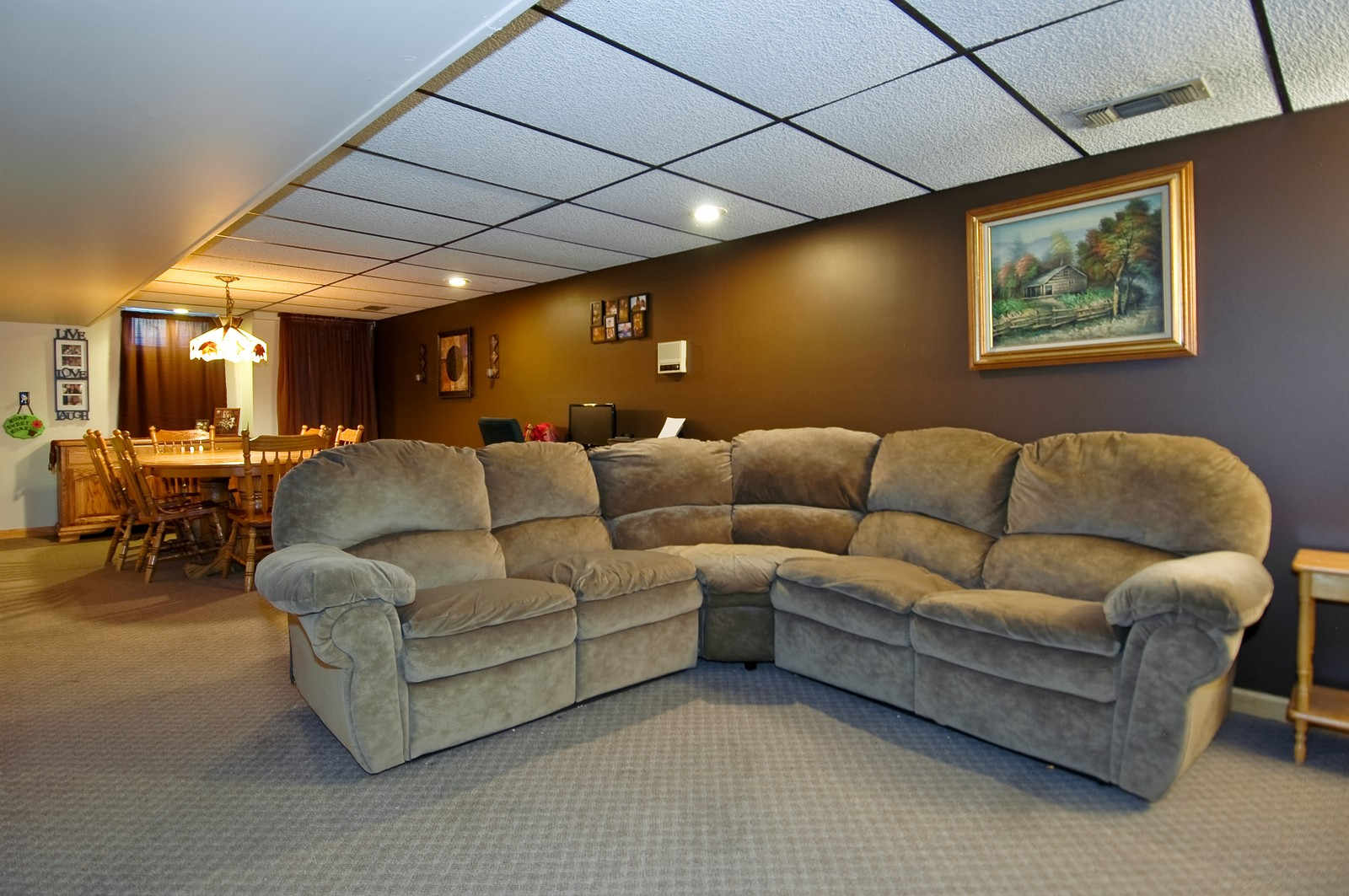 Real Estate Photography - 7318 McHenry Ave, Crystal Lake, IL, 60014 - Lower Level