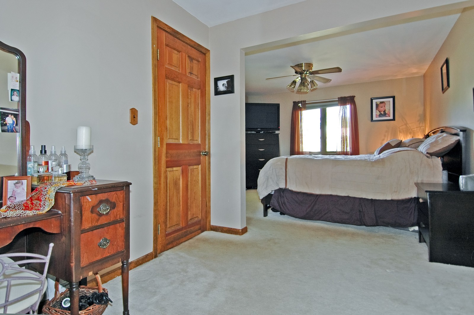 Real Estate Photography - 7318 McHenry Ave, Crystal Lake, IL, 60014 - Master Bedroom