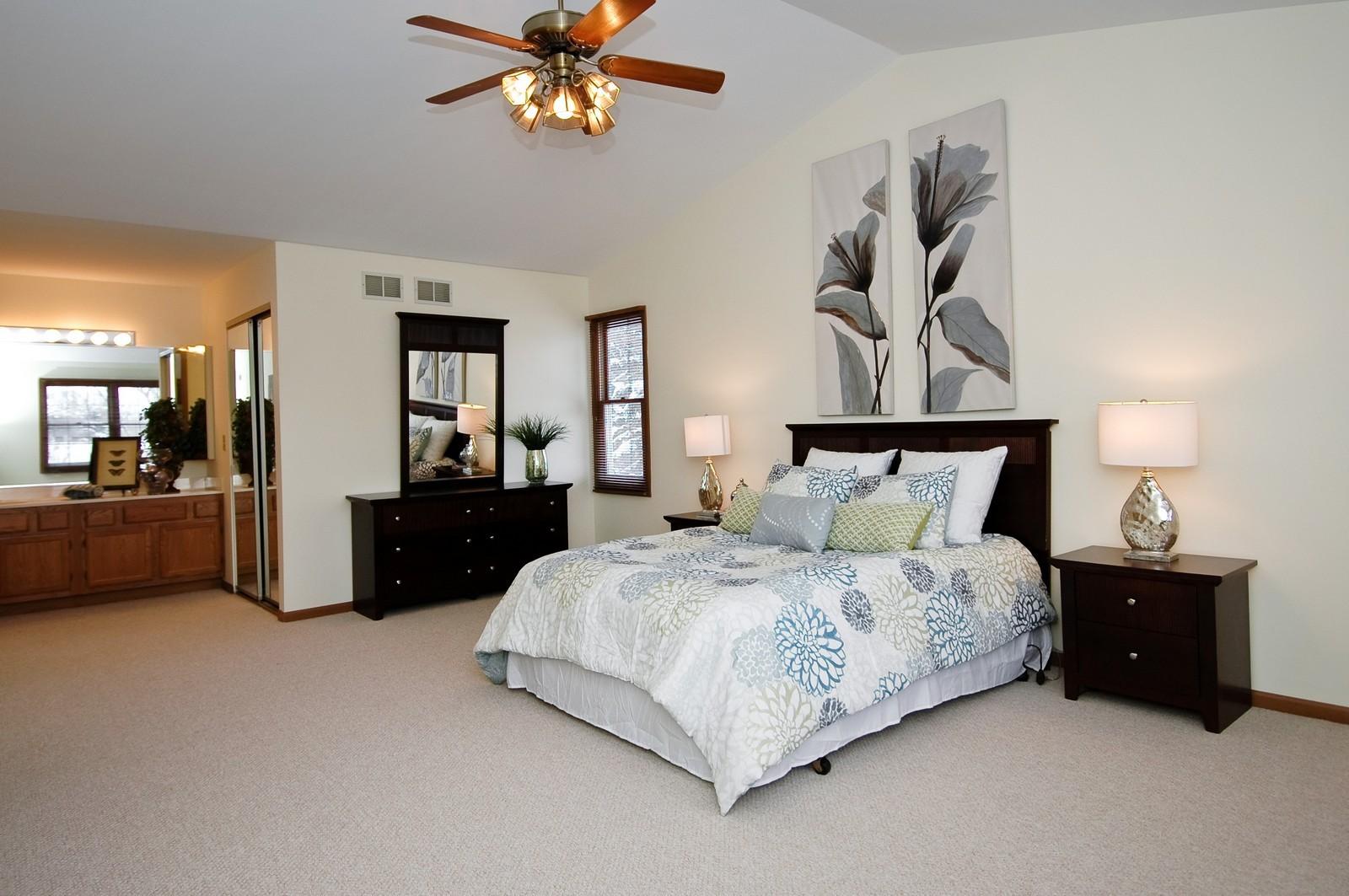 Real Estate Photography - 62 Crystal Ridge Dr, Crystal Lake, IL, 60012 - Master Bedroom