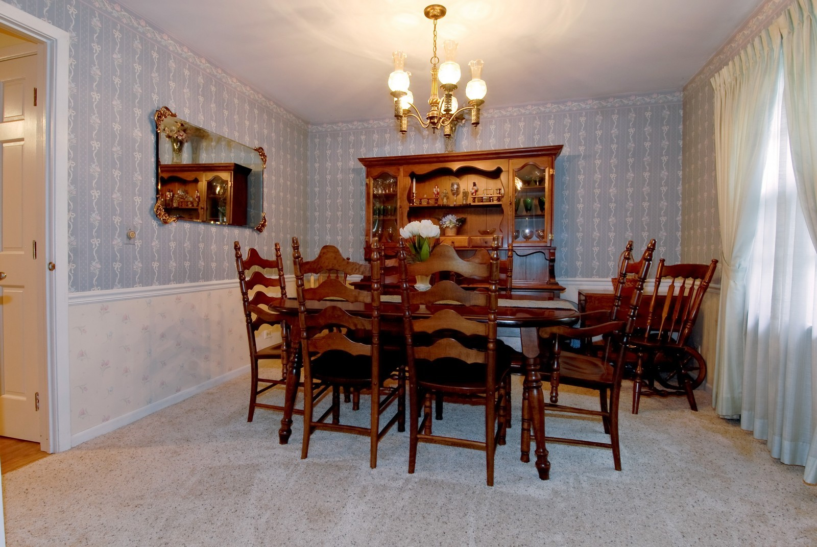 Real Estate Photography - 1157 Chillem Dr, Batavia, IL, 60510 - Dining Room