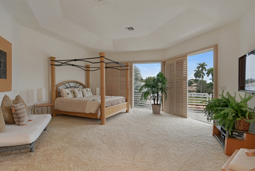 Real Estate Photography - 600 Isle of Palms Dr, Fort Lauderdale, FL, 33301 - Bedroom