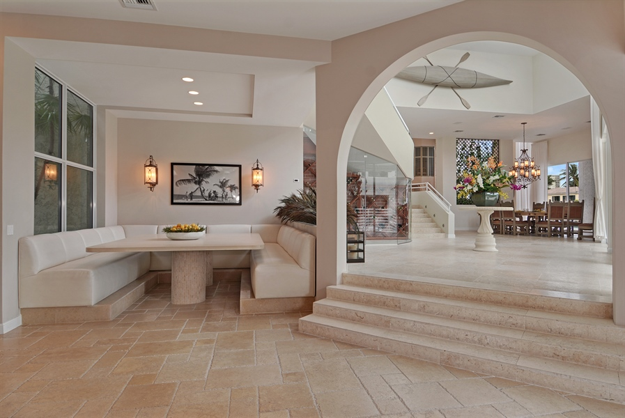 Real Estate Photography - 600 Isle of Palms Dr, Fort Lauderdale, FL, 33301 - Breakfast Room