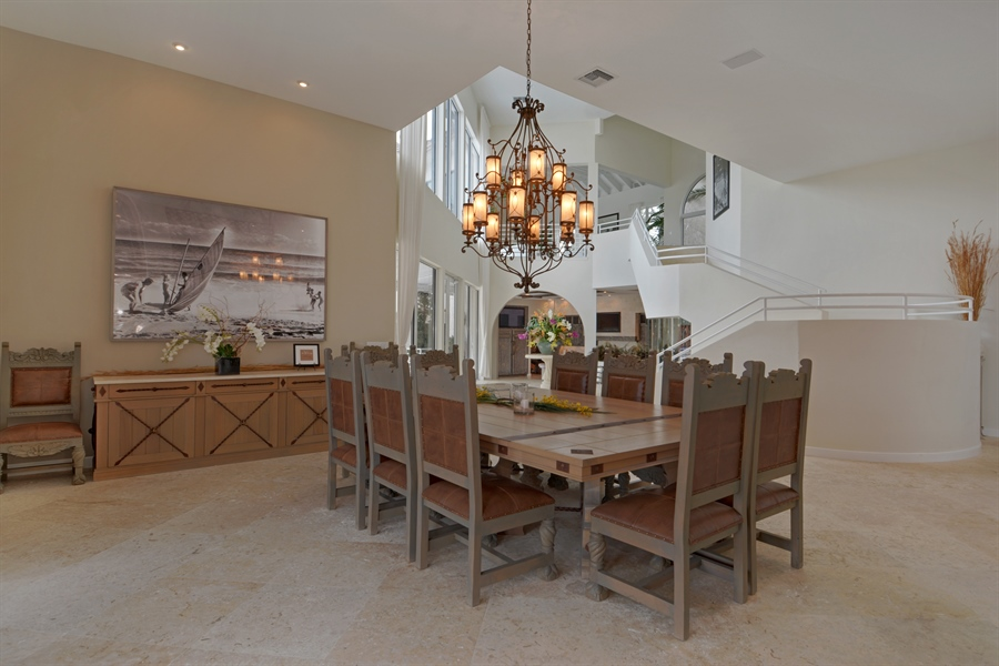 Real Estate Photography - 600 Isle of Palms Dr, Fort Lauderdale, FL, 33301 - Dining Area