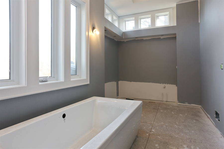 Real Estate Photography - 16670 Lakeshore Road, Union Pier, MI, 49129 - Master Bathroom