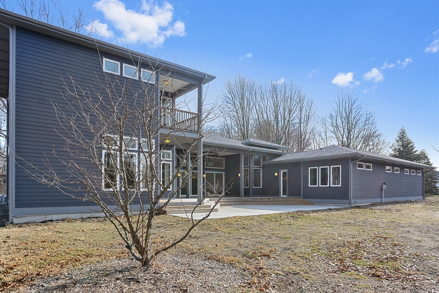 Real Estate Photography - 16670 Lakeshore Road, Union Pier, MI, 49129 - Rear View