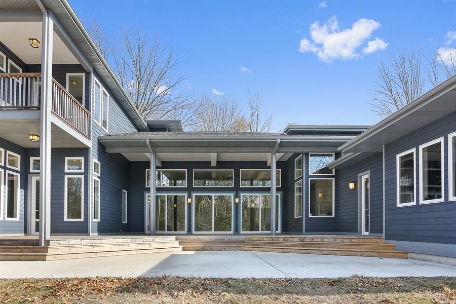 Real Estate Photography - 16670 Lakeshore Road, Union Pier, MI, 49129 - Patio