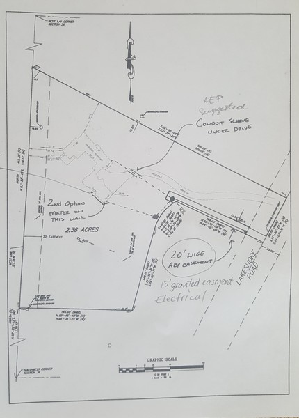Real Estate Photography - 16670 Lakeshore Road, Union Pier, MI, 49129 - survey - 2.36 acres