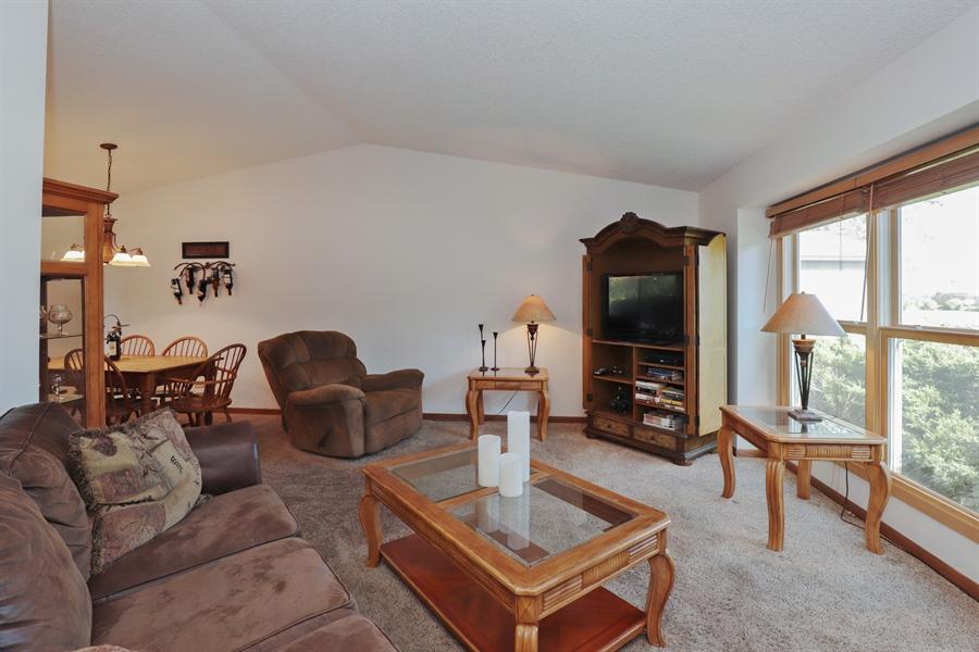 Real Estate Photography - 406 Pheasant Ridge Ct, Lindenhurst, IL, 60046 - Living Room