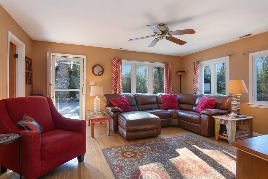 Real Estate Photography - 222 Groveland Trail, Michigan City, IN, 46360 - Living Room