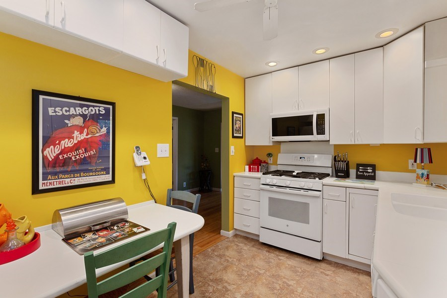 Real Estate Photography - 222 Groveland Trail, Michigan City, IN, 46360 - Kitchen