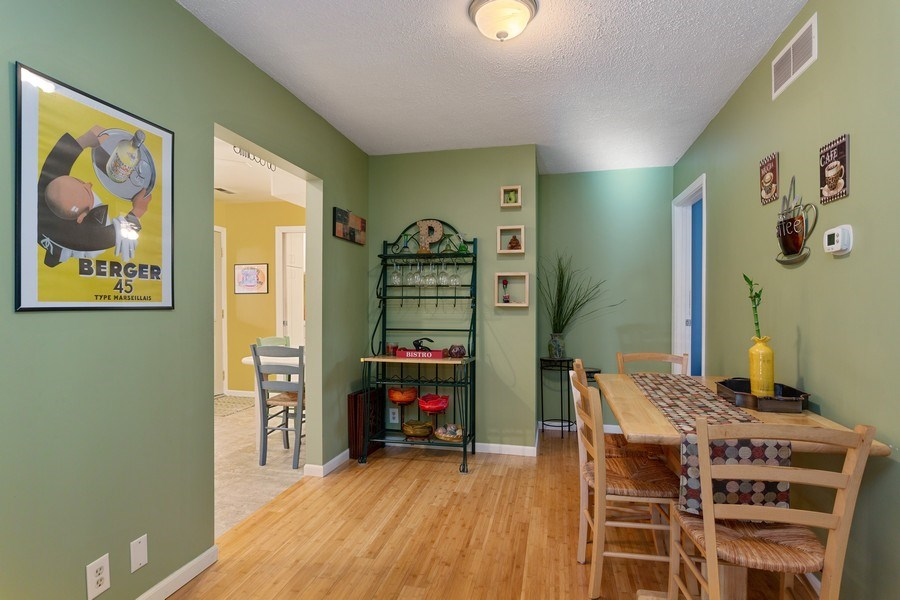 Real Estate Photography - 222 Groveland Trail, Michigan City, IN, 46360 - Dining Room