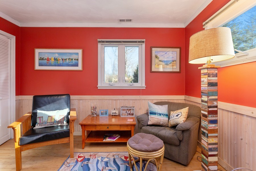 Real Estate Photography - 222 Groveland Trail, Michigan City, IN, 46360 - Den