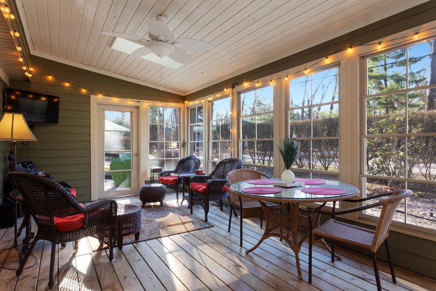 Real Estate Photography - 222 Groveland Trail, Michigan City, IN, 46360 - Porch