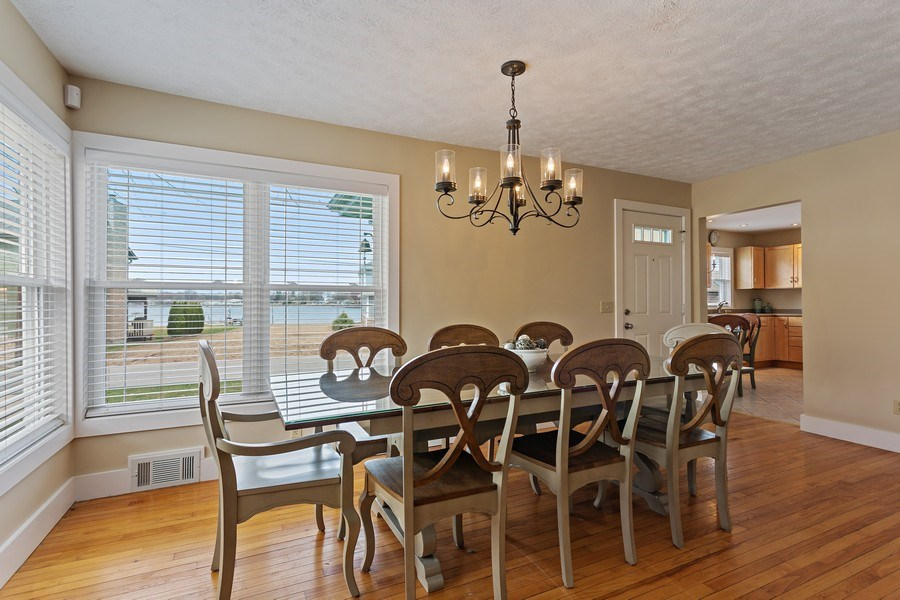 Real Estate Photography - 607 Lakeside St, La Porte, IN, 46350 - Dining Room