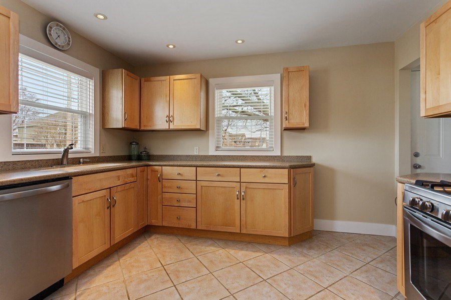 Real Estate Photography - 607 Lakeside St, La Porte, IN, 46350 - Kitchen