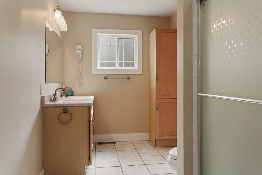 Real Estate Photography - 607 Lakeside St, La Porte, IN, 46350 - Bathroom