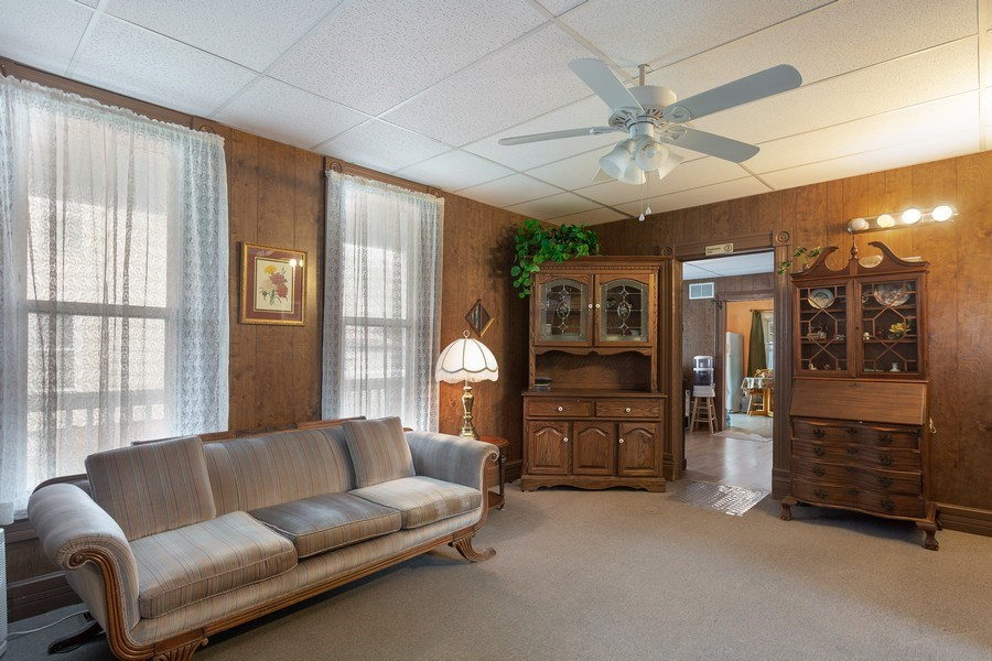 Real Estate Photography - 516 Wabash Street, Michigan City, IN, 46360 - Living Room