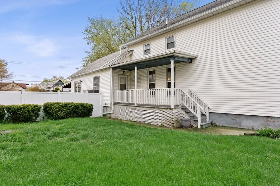 Real Estate Photography - 516 Wabash Street, Michigan City, IN, 46360 - Back Yard
