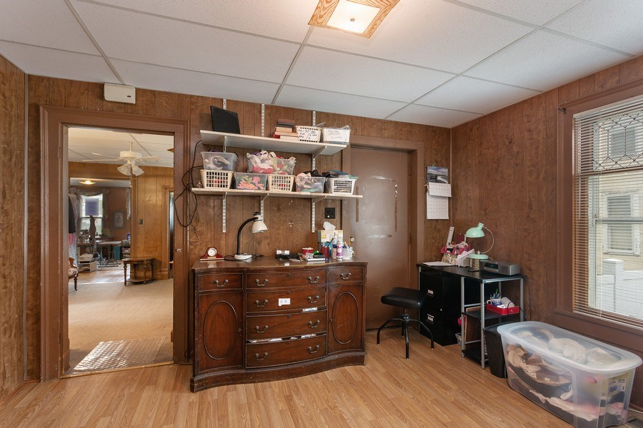 Real Estate Photography - 516 Wabash Street, Michigan City, IN, 46360 - Family Room